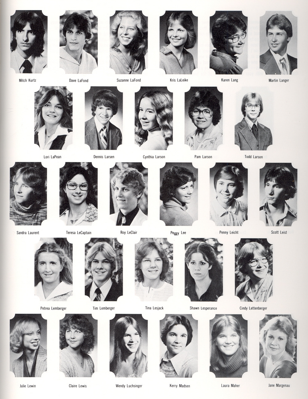 Page 149 1980 Manitowoc Lincoln High School Yearbook And
